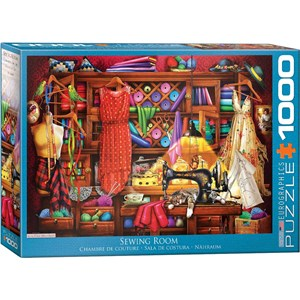 """Eurographics (6000-5347) - """"Sewing Room"""" - 1000 pièces"""