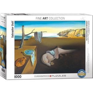 """Eurographics (6000-0845) - Salvador Dali: """"La Persistance de la Mémoire"""" - 1000 pièces"""