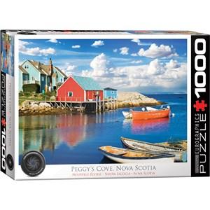 """Eurographics (6000-5438) - """"Peggy's Cove, Nova Scotia"""" - 1000 pièces"""