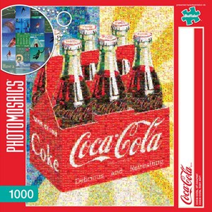 "Buffalo Games (11273) - Robert Silvers: ""Coca-Cola, of Course!"" - 1000 pièces"