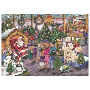 """The House of Puzzles (4951) - Ray Cresswell: """"Deck the Halls"""" - 1000 pièces"""