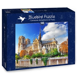 """Bluebird Puzzle (70224) - """"Cathédrale Notre-Dame de Paris"""" - 1000 pièces"""