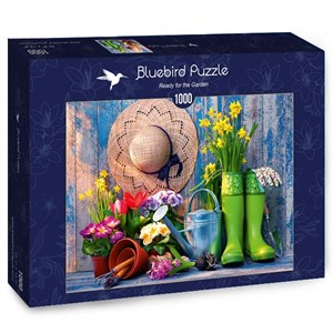 """Bluebird Puzzle (70299) - """"Ready for the Garden"""" - 1000 pièces"""