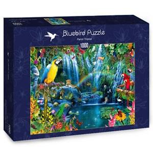 "Bluebird Puzzle (70298) - ""Parrot Tropics"" - 1000 pièces"