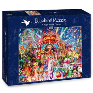 "Bluebird Puzzle (70250) - Aimee Stewart: ""A Night at the Circus"" - 1000 pièces"