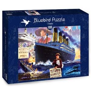 "Bluebird Puzzle (70231) - Steve Crisp: ""Titanic"" - 1000 pièces"