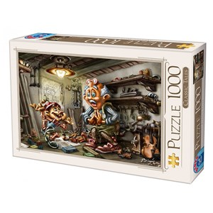 "D-Toys (72894-CT01) - Biro Donat: ""Pinnochio"" - 1000 pièces"