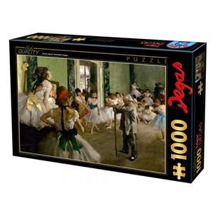 """Educa (72801) - Edgar Degas: """"La Classe de Danse"""" - 1000 pièces"""