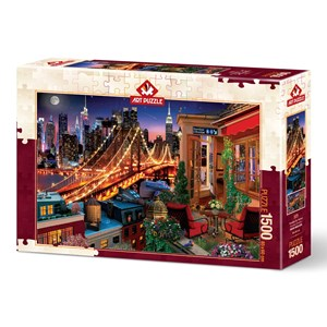 "Art Puzzle (5376) - ""Brooklyn By Terrace"" - 1500 pièces"