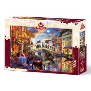 """Art Puzzle (5372) - """"Pont Rialto, Venise"""" - 1500 pièces"""