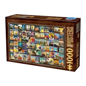 """D-Toys (74621) - """"Travel"""" - 1000 pièces"""