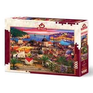 """Art Puzzle (5178) - """"Dubrovnik"""" - 1000 pièces"""
