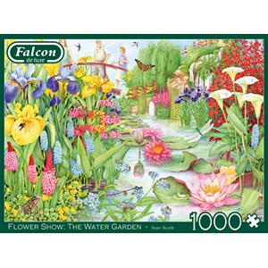 "Buffalo Games (11282) - ""Flower Show, The Water Garden"" - 1000 pièces"