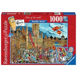 "Ravensburger (15415) - ""Brussels, Belgium"" - 1000 pièces"