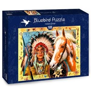 "Bluebird Puzzle (70284) - ""Indian Chief"" - 1500 pièces"