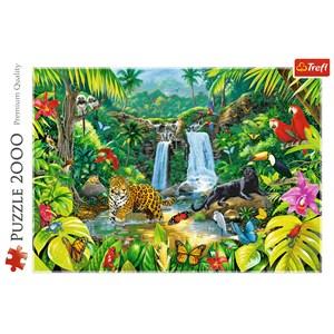 """Trefl (27104) - """"Forêt Tropicale"""" - 2000 pièces"""