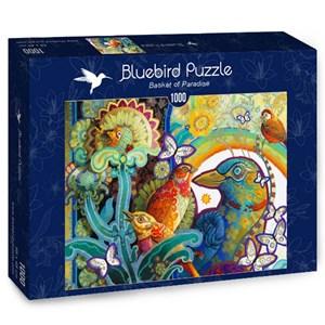 "Bluebird Puzzle (70297) - David Galchutt: ""Basket of Paradise"" - 1000 pièces"