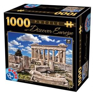 """D-Toys (65995) - """"Acropolis"""" - 1000 pièces"""