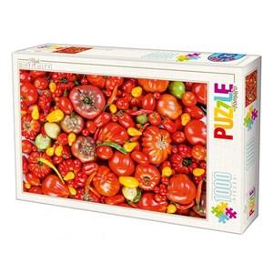 """D-Toys (71958-HD03) - """"Tomato"""" - 1000 pièces"""