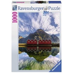 "Ravensburger (15256) - ""Sunndalsora, Norway"" - 1000 pièces"