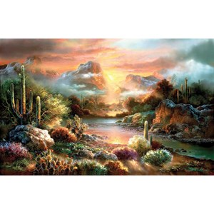 "SunsOut (18057) - James Lee: ""Sunset Splendor"" - 1000 pièces"