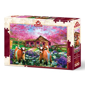 """Art Puzzle (4577) - """"When the Spring Comes"""" - 500 pièces"""