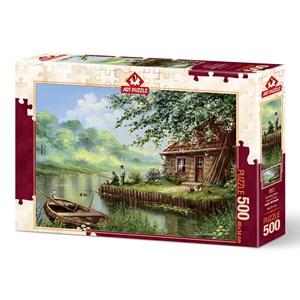 """Art Puzzle (5071) - """"Evening Hook"""" - 500 pièces"""