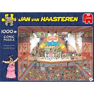 """Jumbo (20025) - Jan van Haasteren: """"Concours de Chant"""" - 1000 pièces"""