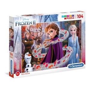 """Clementoni (20162) - """"Disney Frozen 2"""" - 104 pièces"""