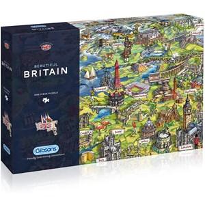 "Gibsons (G7080) - Maria Rabinsky: ""Beautiful Britain"" - 1000 pièces"
