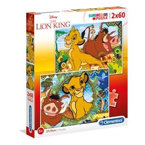 """Clementoni (21604) - """"Disney Lion King"""" - 60 pièces"""