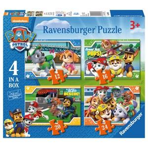 "Ravensburger (06936) - ""Paw Patrol"" - 12 16 20 24 pièces"