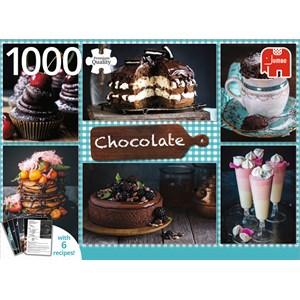 "Jumbo (18593) - ""Chocolate"" - 1000 pièces"