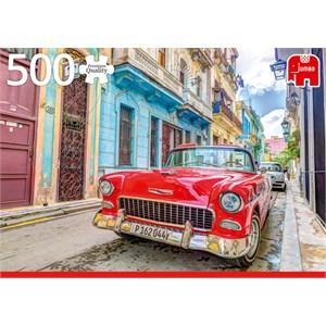 "Jumbo (18803) - ""Havana, Cuba"" - 500 pièces"
