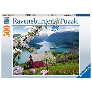 "Ravensburger (15006) - ""Idylle Scandinave"" - 500 pièces"