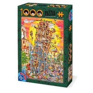 """D-Toys (86121) - """"Tour de Pise"""" - 1000 pièces"""