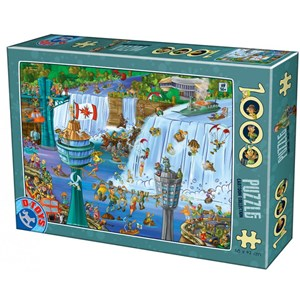 "D-Toys (75932) - ""Niagara Falls"" - 1000 pièces"