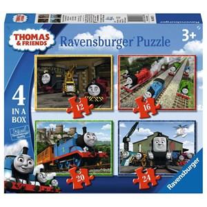 """Ravensburger (06937) - """"Thomas & Friends"""" - 12 16 20 24 pièces"""