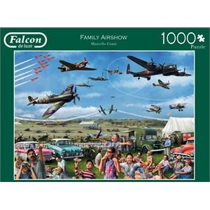 """Falcon (11195) - Marcello Corti: """"Family Airshow"""" - 1000 pièces"""