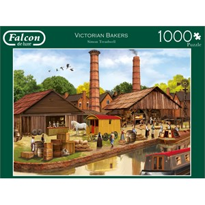 "Falcon (11257) - Simon Treadwell: ""Victorian Bakers"" - 1000 pièces"