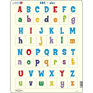 """Larsen (LS1426) - """"All the upper and lower case letter"""" - 26 pièces"""