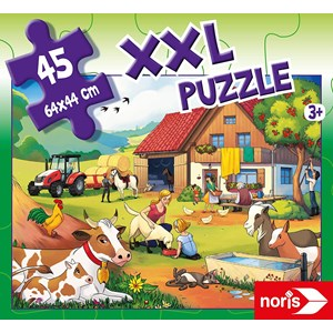 "Noris (606031565) - ""On a Farm"" - 45 pièces"