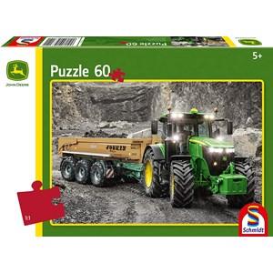 """Schmidt Spiele (56314) - """"John Deere Tractor"""" - 60 pièces"""