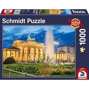 """Schmidt Spiele (58385) - """"Brandenburg Gate, Berlin"""" - 1000 pièces"""