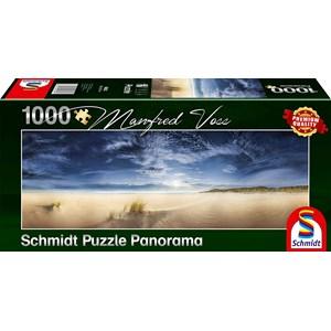 "Schmidt Spiele (59623) - Manfred Voss: ""Infinite Space, Sylt"" - 1000 pièces"