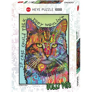"""Heye (29893) - """"If Cats Could Talk"""" - 1000 pièces"""