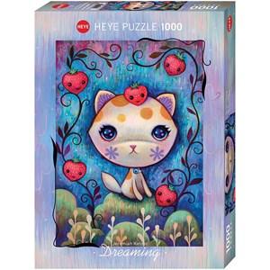 "Heye (29895) - Jeremiah Ketner: ""Strawberry Kitty"" - 1000 pièces"