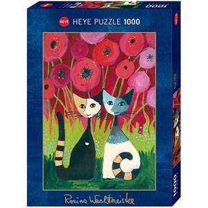 """Heye (29900) - Rosina Wachtmeister: """"Poppy Canopy"""" - 1000 pièces"""
