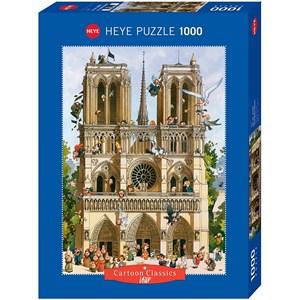 "Heye (29905) - Jean-Jacques Loup: ""Vive Notre Dame!"" - 1000 pièces"