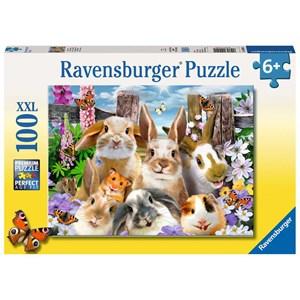 """Ravensburger (10949) - """"Rabbit Selfie"""" - 100 pièces"""